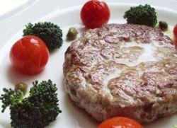 рубленный бифштекс из говядины