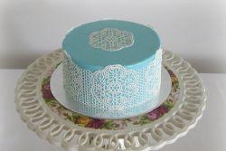 Рецепт кружева для торта