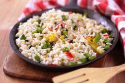 Как приготовить рис на гарнир?