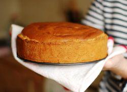Банановый бисквит для торта