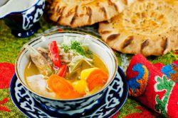 шурпа из говядины по узбекски