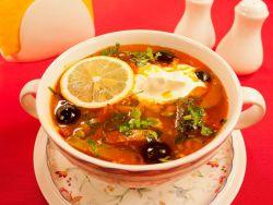 суп мясная сборная солянка рецепт