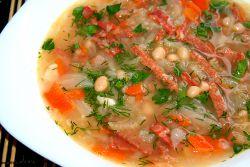 суп из белой фасоли рецепт