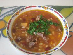 фасолевый суп - рецепт