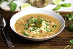 Фасолевый суп с курицей – рецепт