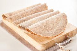 Блины из гречневой муки с пшеничной мукой