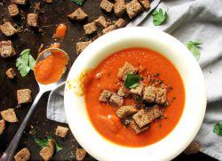 постный томатный суп