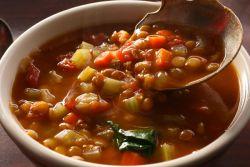суп с чечевицей постный рецепт