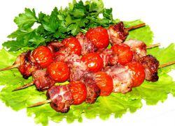 шашлык в духовке на шпажках из свинины