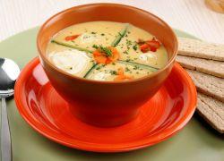 овощной крем суп со сливками