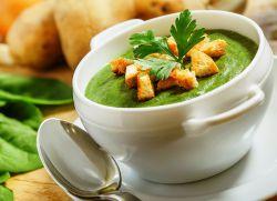 овощной постный суп с брокколи