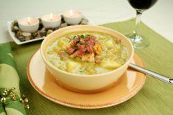 суп пюре гороховый с курицей