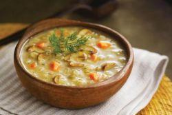 суп из сушеных грибов с вермишелью