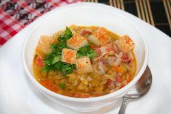 как сварить гороховый суп с курицей