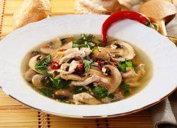 как сварить вкусный грибной суп