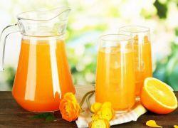 Домашний лимонад из замороженных апельсинов