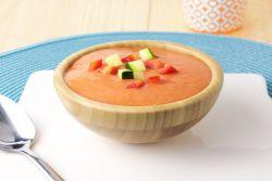 Холодный суп из томатов