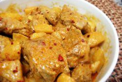 Как приготовить курицу карри