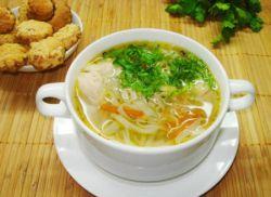 как сварить  суп из курицы