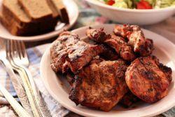 как вкусно пожарить отбивные из свинины