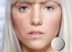 Маска для лица с ацетилсалициловой кислотой