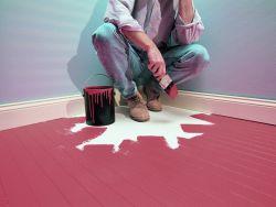 Чем покрасить деревянный пол