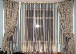 Как сшить шторы на люверсах
