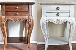 Реставрация белой мебели своими руками фото 351
