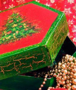 Упаковка новогоднего подарка своими руками 8