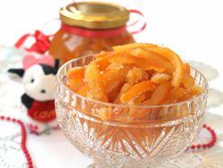 Цукаты из мандарин (мандариновой кожуры)