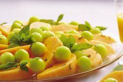 десерт из дыни