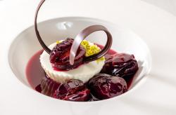 десерт со сливами