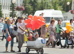 парад колясок идеи