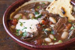 фасолевый суп с ребрышками рецепт