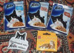 Felix - влажный корм для кошек, продажа в Киеве