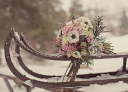 Где фотографироваться на свадьбу зимой
