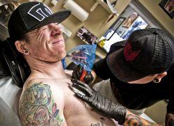 Где не больно делать татуировку