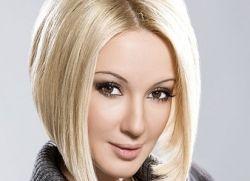 Лера Кудрявцева прическа