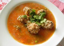 гороховый суп с тефтелями