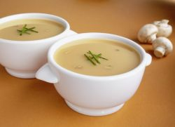 Грибной диетический суп