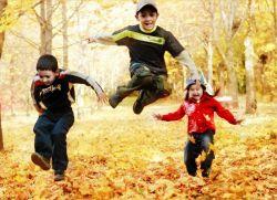 Осенние игры в детском саду