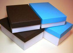 как сделать коробку из бумаги