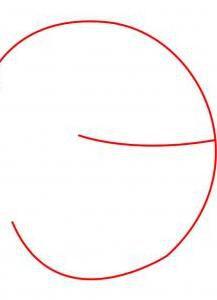 Как нарисовать луну 1