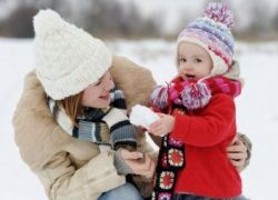 как одеть активного ребенка зимой