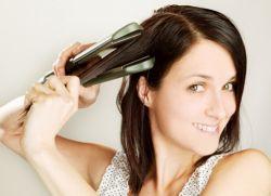 Как хорошо выпрямить волосы утюжком