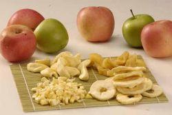 как сделать сушеные яблоки