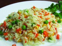 Вкусно приготовить рис с овощами в мультиварке