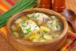 как сварить рыбный суп