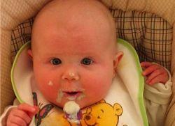 Детское пюре с 3 месяцев