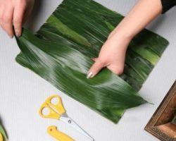 Картины из скелетированных листьев своими руками